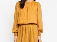 Glowa Long Sleeve Dress pakaian imlek malaysia