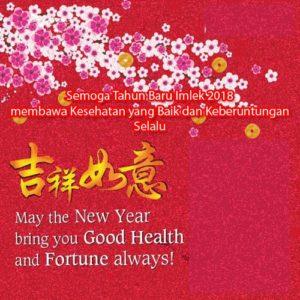 kartu ucapan imlek dalam bahasa mandarin