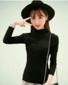 baju imlek wanita warna hitam daisy shio kambing