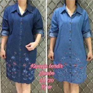 baju imlek warna biru