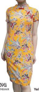 baju wanita warna kuning shio lembu