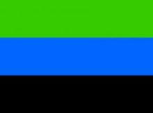 biru hitam hijau