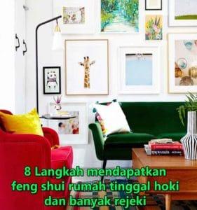 feng shui rumah tinggal hoki