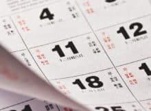Kalender Ramalan Usaha Bisnis 2018