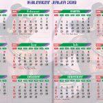 Kalender Jawa 2019 gajah mada