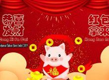 Gong xi fa cai - selamat tahun baru imlek
