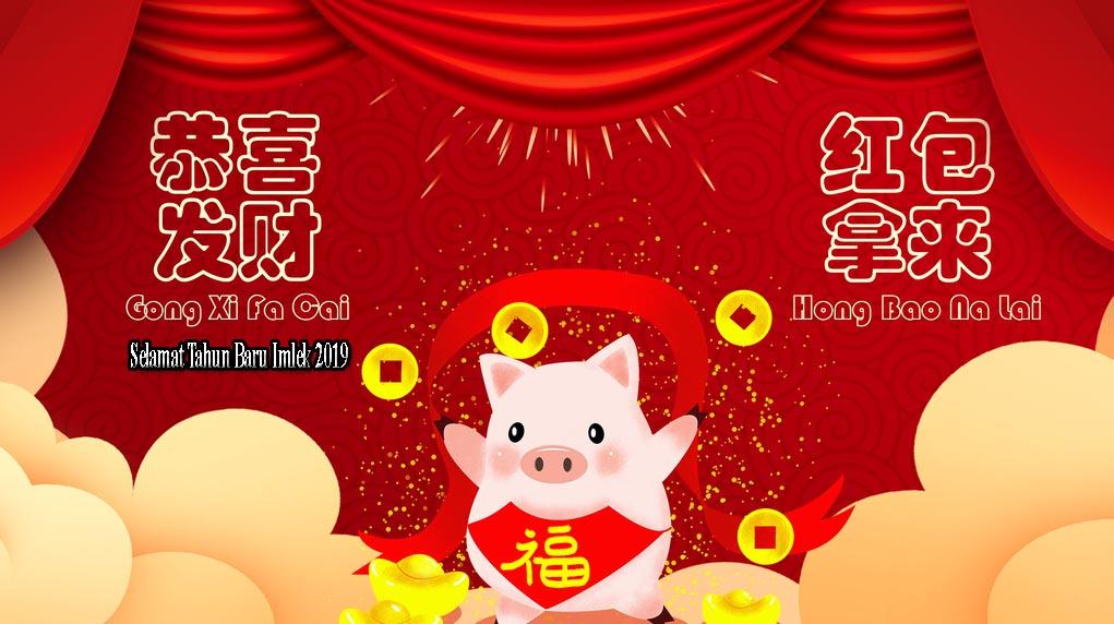 Kumpulan Gambar Gong Xi Fa Cai Ucapan Imlek 2019 Terbaik