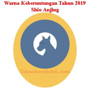 Warna shio anjing tahun 2019 fengshui pakaian kendaraan rumah Pink Parma Gede Blue