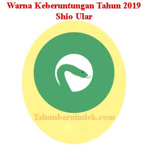 Warna shio ular tahun 2019 fengshui pakaian kendaraan rumah kuning mentega hijau daun bawang
