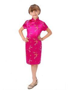 baju imlek anak perempuan warna Pink Fuchsia