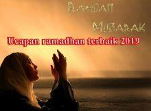 ucapan ramadhan terbaik 2019
