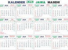 kalender 2021 jawa