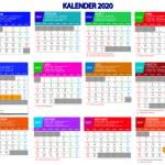 Kalender 2020 lengkap revisi hari libur nasional (indonesia, jawa dan Hijriyah)