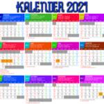 Kalender 2021 lengkap hari libur nasional (indonesia, jawa dan Hijriyah)