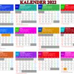 Kalender 2022 lengkap hari libur nasional (indonesia, jawa dan Hijriyah)
