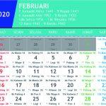 Kalender Jawa Februari 2020 lengkap Hari Pasaran dan Wuku Hari