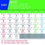 Kalender Jawa Maret 2020 lengkap Hari Pasaran dan Wuku Hari