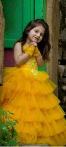 Baju imlek 2020 anak wanita warna kuning