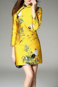 Baju imlek 2020 wanita dewasa warna kuning