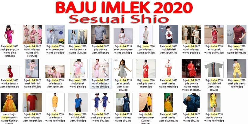 Baju imlek 2020