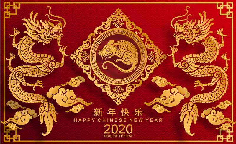 20 Gambar Ucapan Selamat Tahun Baru Imlek 2020 Bahasa Indonesia Inggris Mandarin