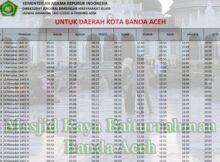jadwal imsakiyah aceh-kota banda aceh 2020 1441h