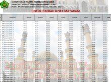 jadwal imsakiyah mataram 2020 Archives • Tahunbaruimlek.com