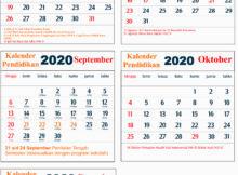 kalender pendidikan 2020 dki jakarta