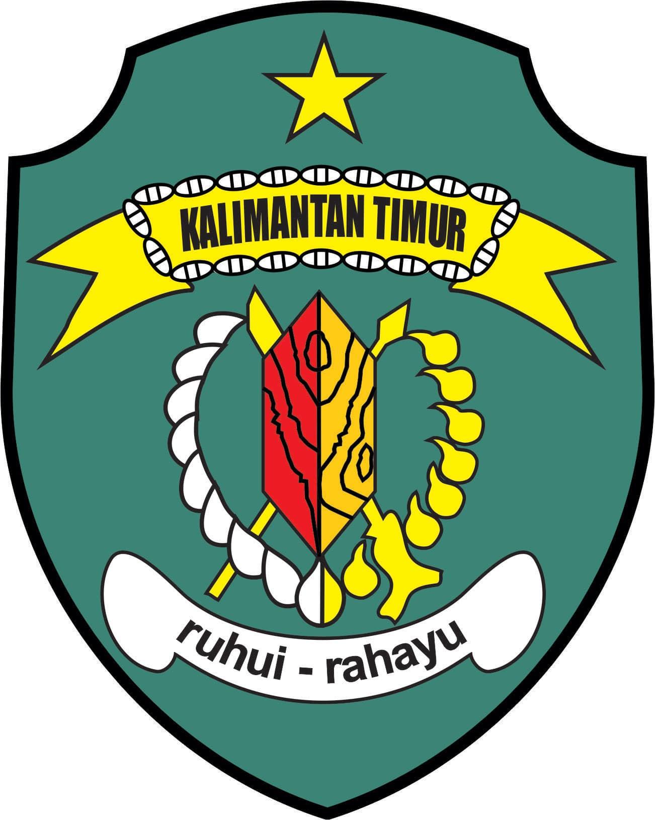 logo lambang provinsi kalimantan timur