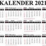 kalender tahun 2021 lengkap