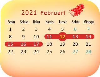 tanggal imlek 2021