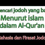 Mencari jodoh yang baik menurut islam
