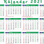 Kalender hijriyah 1442 (2021m)