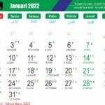 Kalender Jawa Bulan Januari 2022 Lengkap Wuku Dan Weton